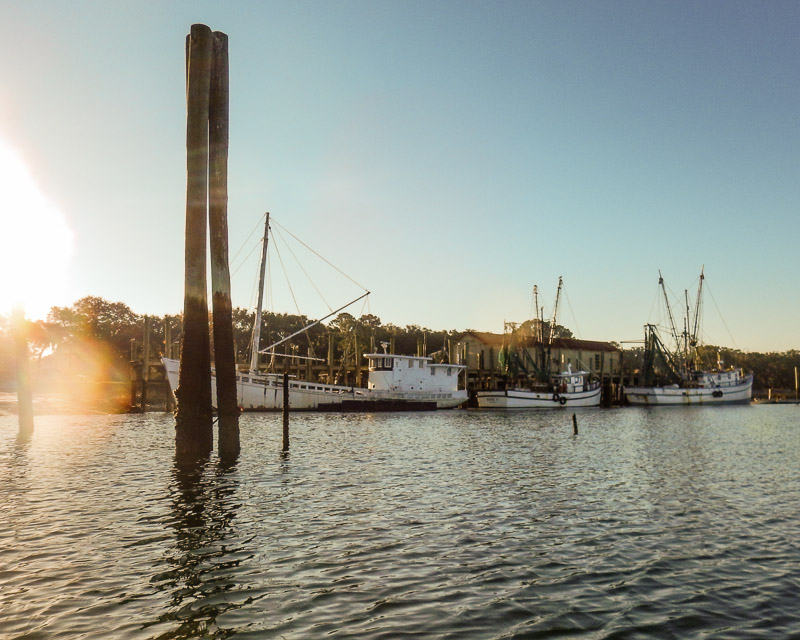 Shrimp Boats, Benny Hudson's Dock, Hilton Head Island