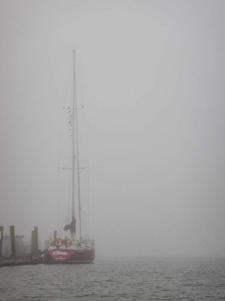 Sailboat At Dock, No. 2, Dec. 4