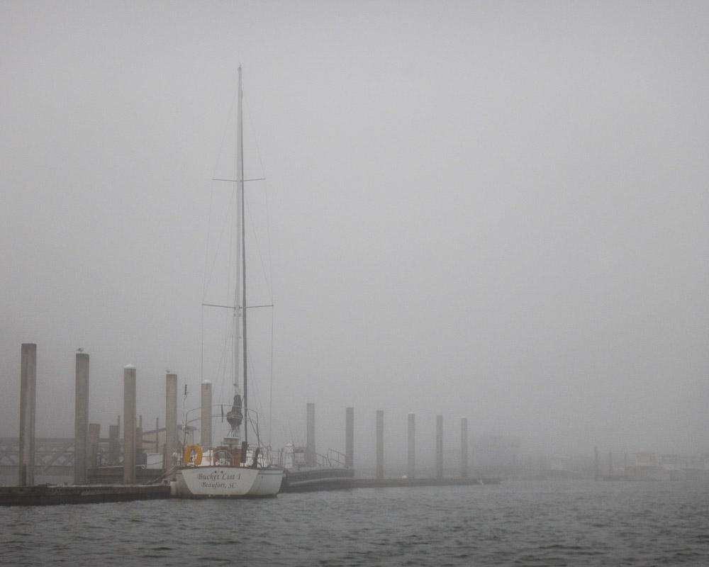 Sailboat At Dock, No. 1, Dec. 4