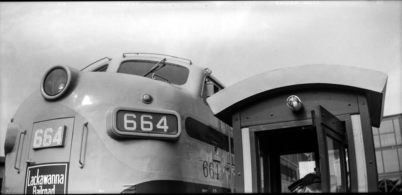 Diesel Engine Steamtown - Box Camera