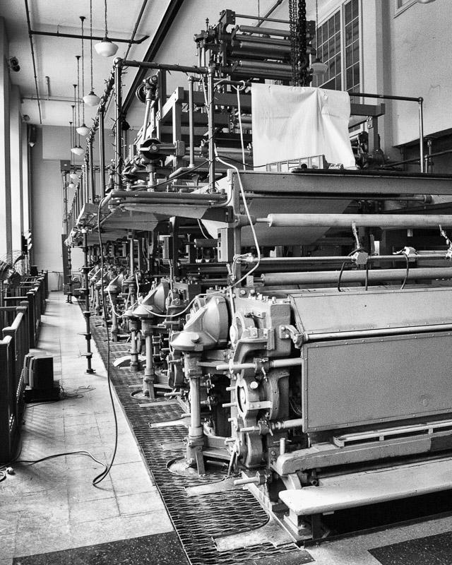 Printing Press, Scranton Times, Scranton, PA