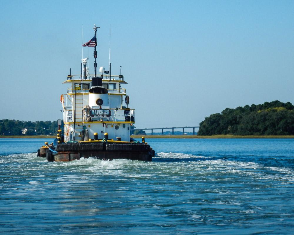 Tugboat Maverick, Intracoastal Waterway, Hilton Head Island, SC